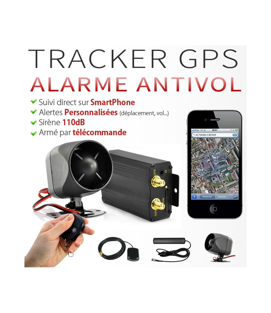 traceur gps voiture alarme anti vol. Black Bedroom Furniture Sets. Home Design Ideas